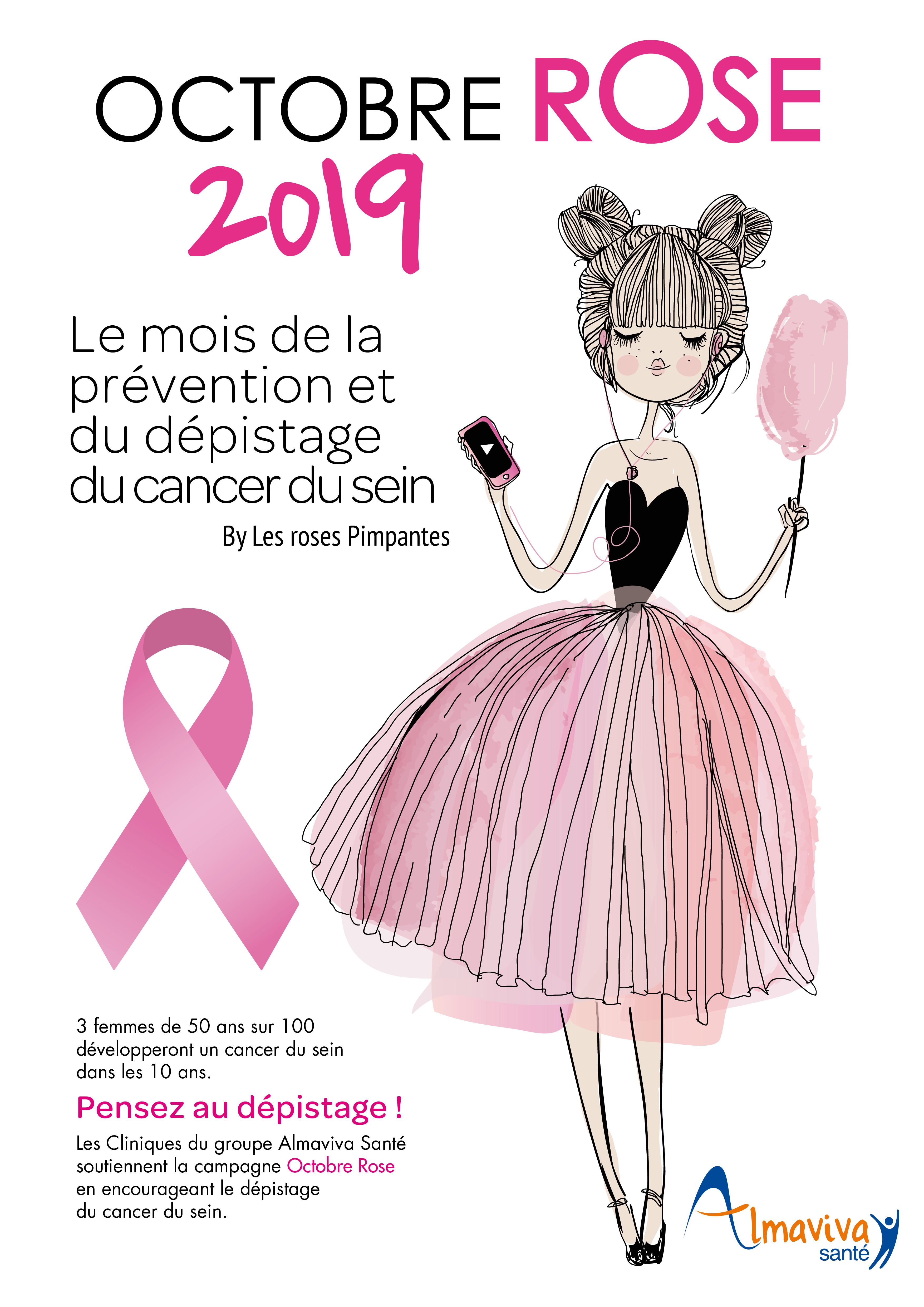 OCTOBRE ROSE : La clinique de l'Yvette participe à la lutte contre le cancer du sein
