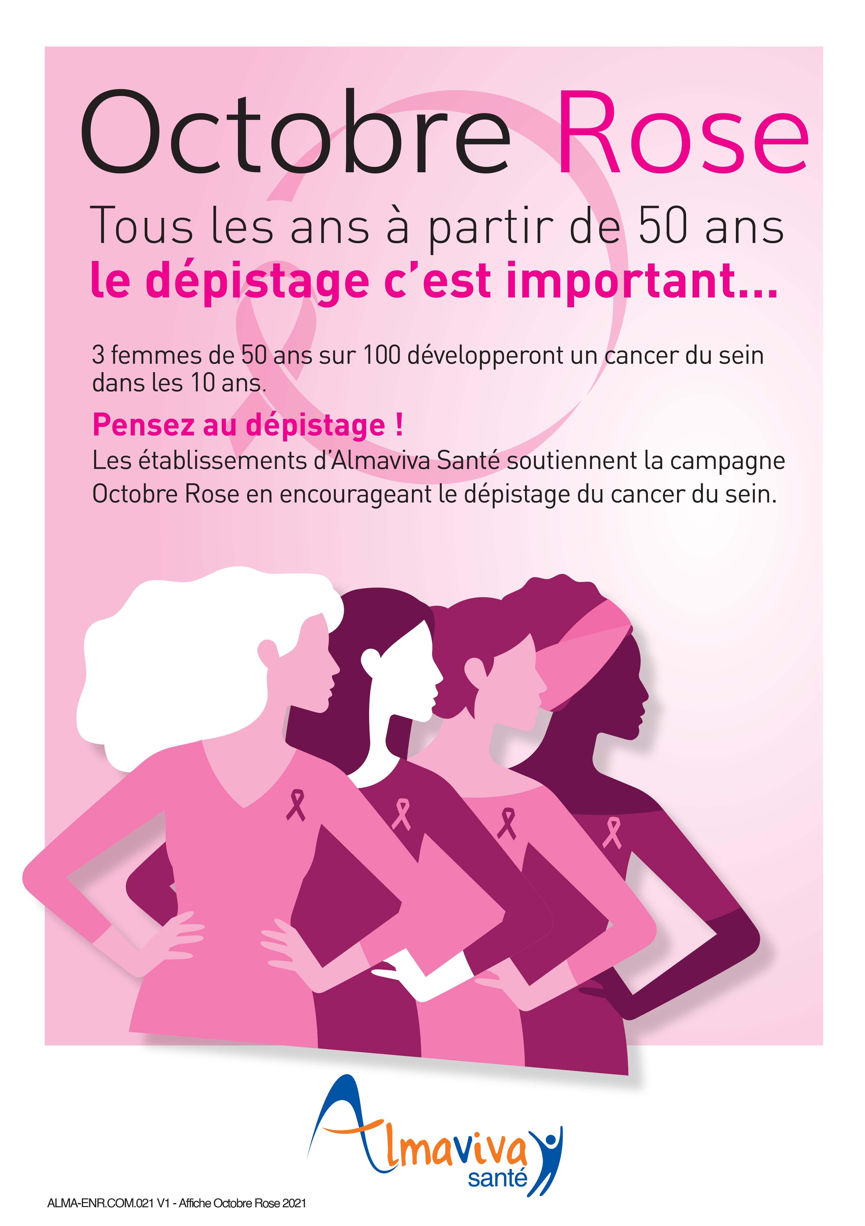 Octobre Rose : Le mois de la prévention contre le cancer du sein
