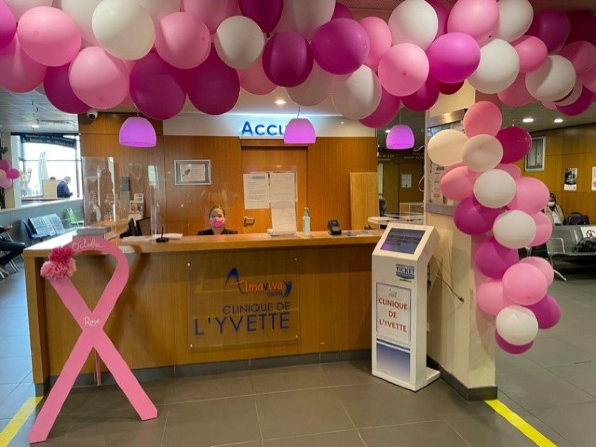 Octobre Rose : La clinique de l'Yvette participe à la lutte contre le cancer